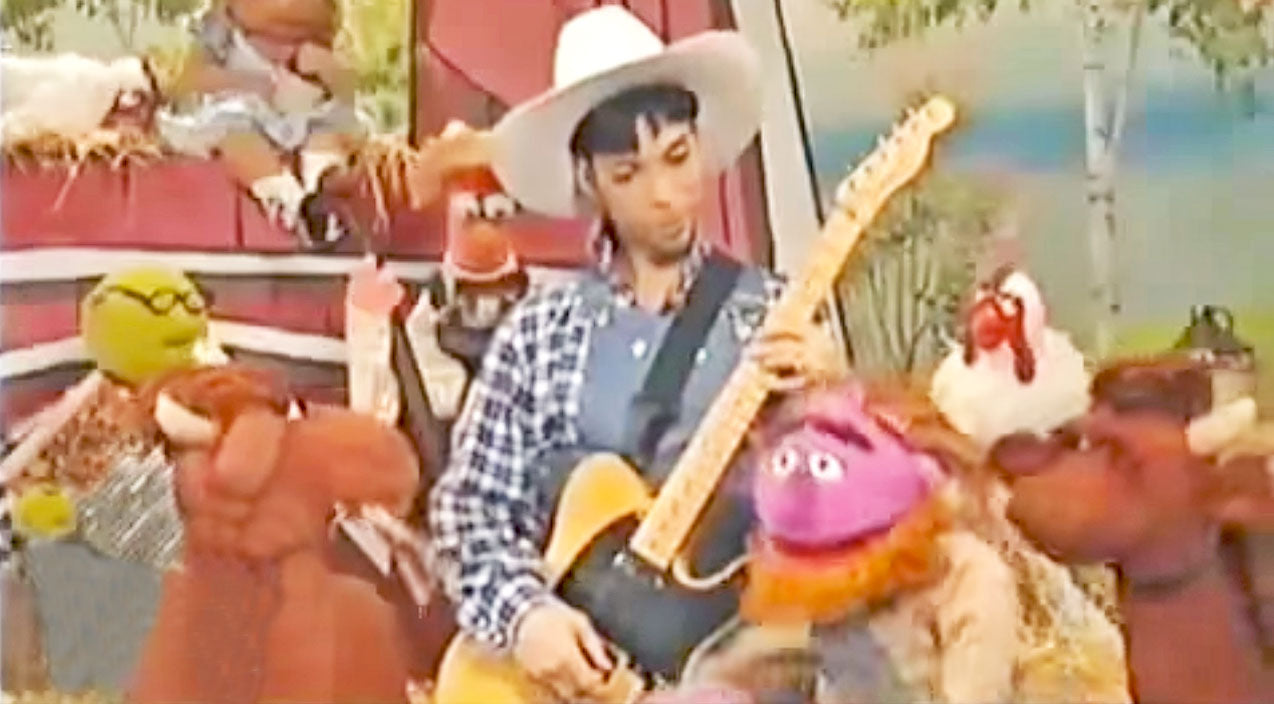 Prince Songs | Absolutely No One Expected Prince AKA 'The Artist' To Be A Guitar-Slinging Farmer On 'Muppet Hoo Haw' | Country Music Videos