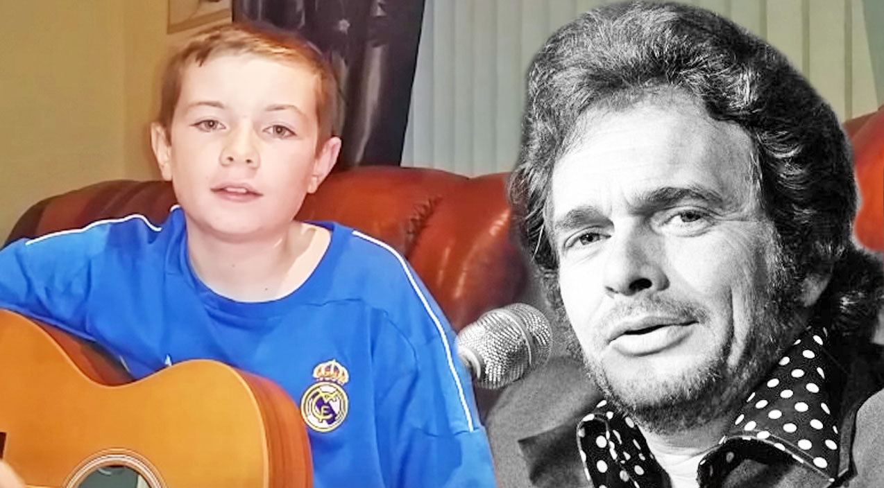 Merle haggard Songs | Young Musical Prodigy Covers Merle Haggard's 'The Fugitive' | Country Music Videos