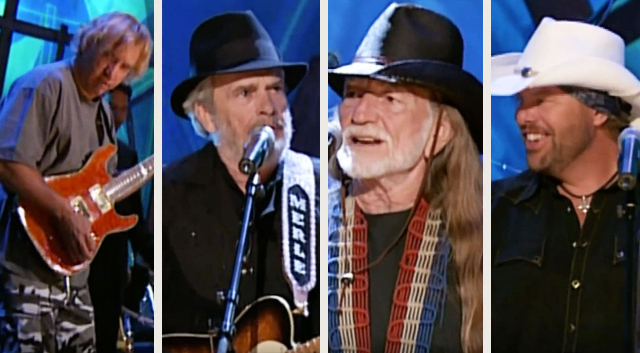 Willie nelson Songs | Merle Haggard & Willie Nelson Join Country Family For Unforgettable 'Ramblin' Fever' | Country Music Videos