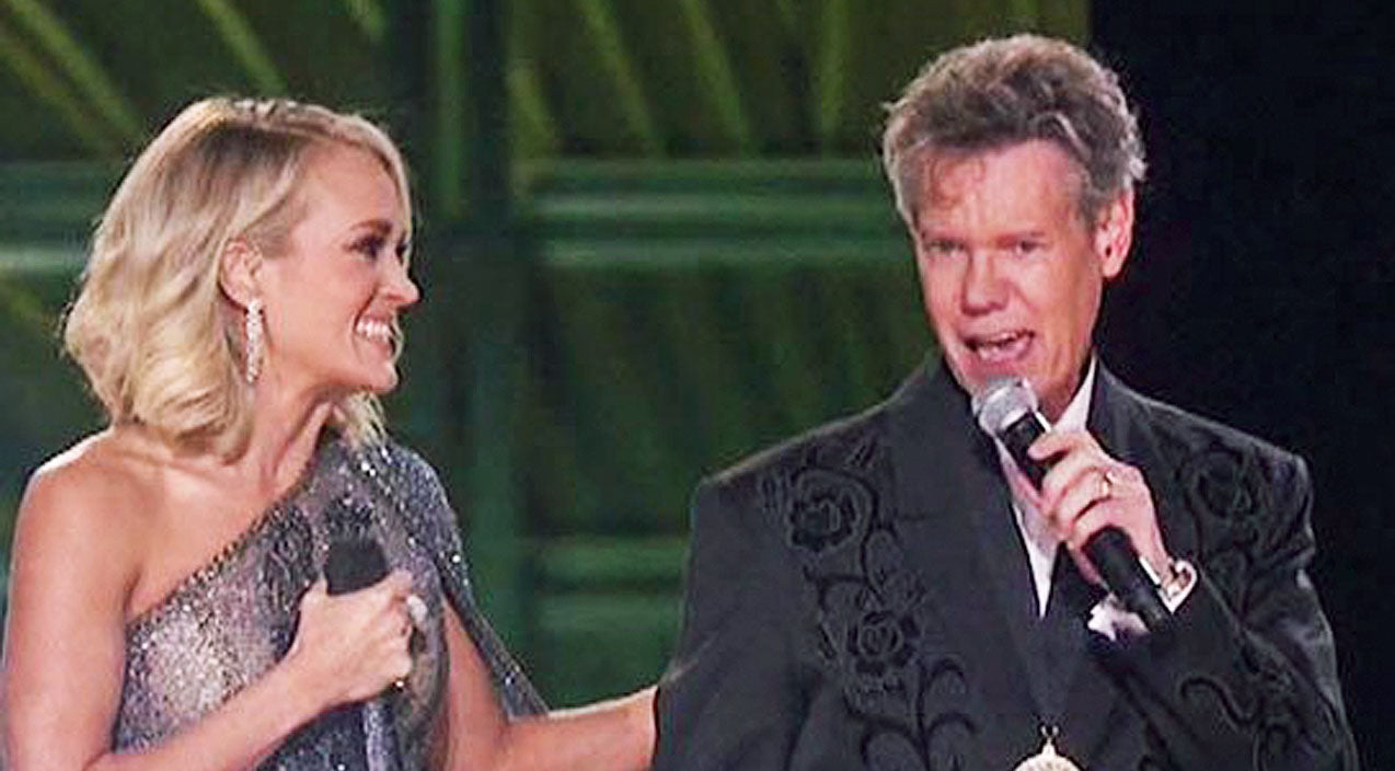 Randy travis Songs | Randy Travis Sings To Standing Ovation During CMA Opening | Country Music Videos