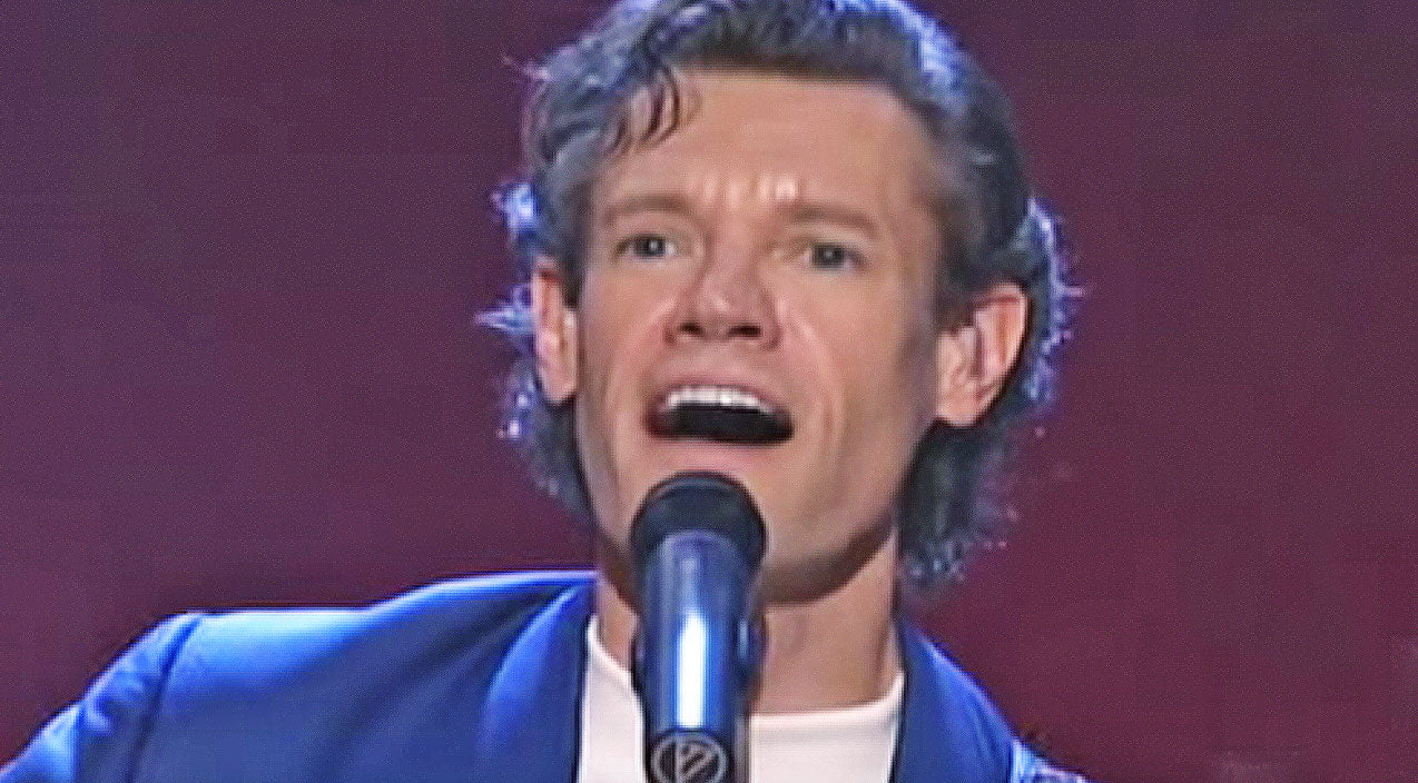 Randy travis Songs | Randy Travis Performs Rockin' Rendition Of 'Hard Rock Bottom Of Your Heart' | Country Music Videos