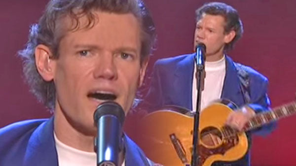 Randy travis Songs | Randy Travis - Hard Rock Bottom Of Your Heart (LIVE) (VIDEO) | Country Music Videos