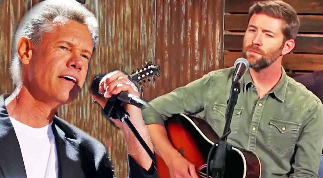 Randy travis Songs | Josh Turner Performs Moving Cover To Randy Travis' Powerful 'Three Wooden Crosses' | Country Music Videos