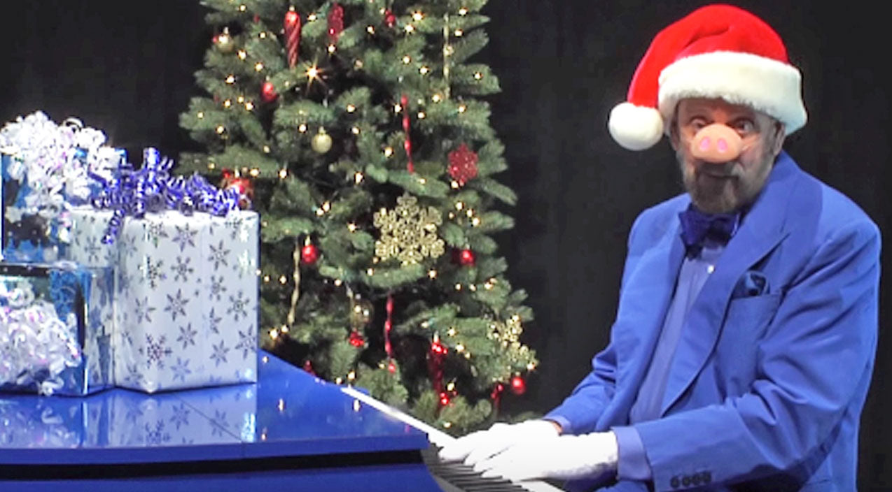 Ray stevens Songs | Ray Stevens Does His Best 'Seymour Swine' Impression For Hilarious Version Of 'Blue Christmas' | Country Music Videos