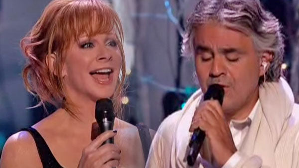 Reba mcentire Songs | Reba McEntire and Andrea Bocelli - Blue Christmas (VIDEO) | Country Music Videos