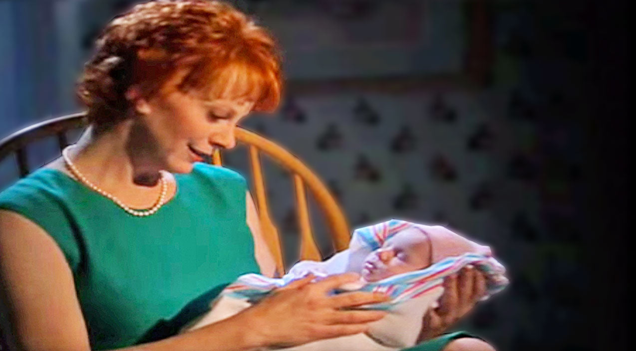 Reba mcentire Songs | Reba McEntire Sings Tender Lullaby To A Sweet Angel Sleeping Peacefully In Her Arms | Country Music Videos