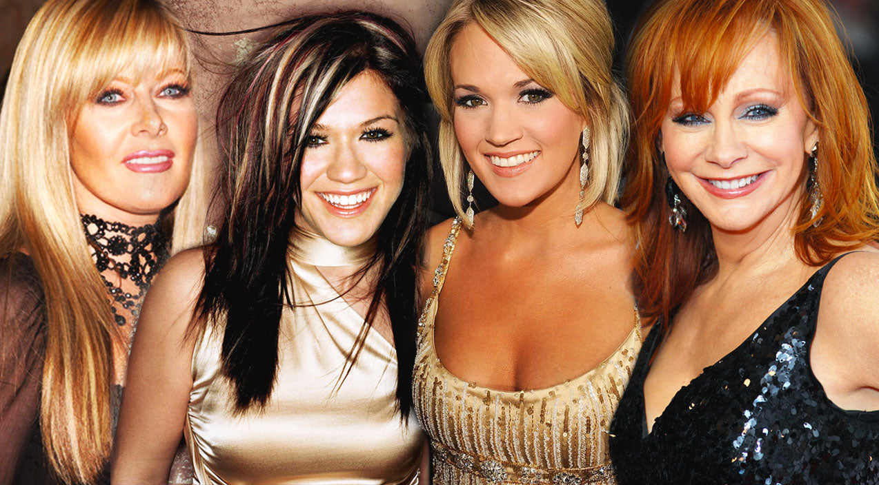 Reba mcentire Songs | Reba McEntire, Jamie O'Neal, Kelly Clarkson and Carrie Underwood - Does He Love You (Live) (WATCH) | Country Music Videos