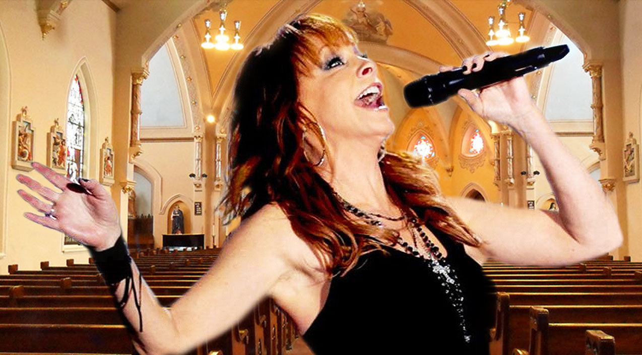 Reba mcentire Songs | Reba McEntire Brings Us To Church In Heavenly New Song 'Oh, How I Love Jesus' | Country Music Videos