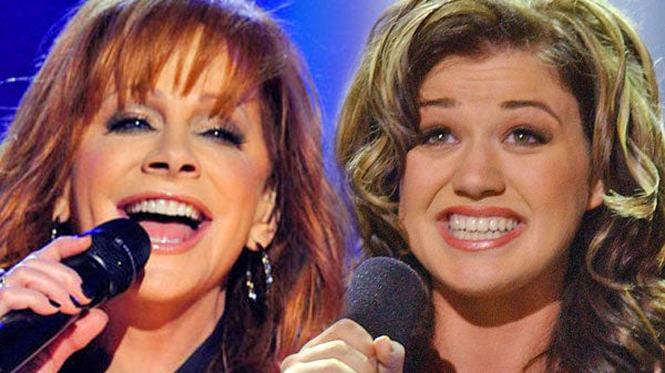 Reba mcentire Songs | Reba McEntire and Kelly Clarkson - Does He Love You (American Idol 2002) | Country Music Videos