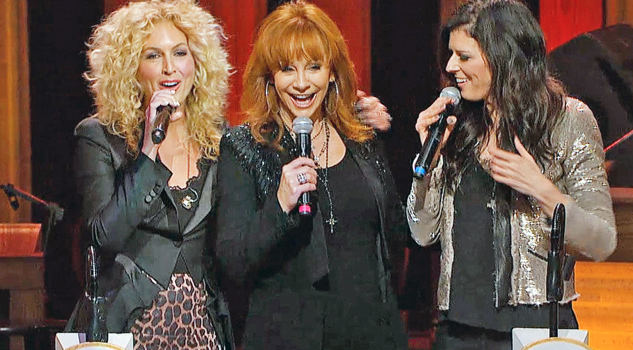 Reba mcentire Songs | Reba McEntire And Little Big Town Surprise Audience With Soulful