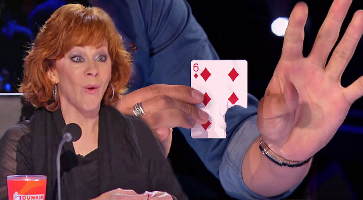 Reba mcentire Songs | Reba McEntire FREAKS OUT Over Magic Trick On 'American's Got Talent' | Country Music Videos