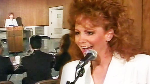 Reba mcentire Songs | Reba on Funny Business with Charlie Chase (VIDEO) | Country Music Videos