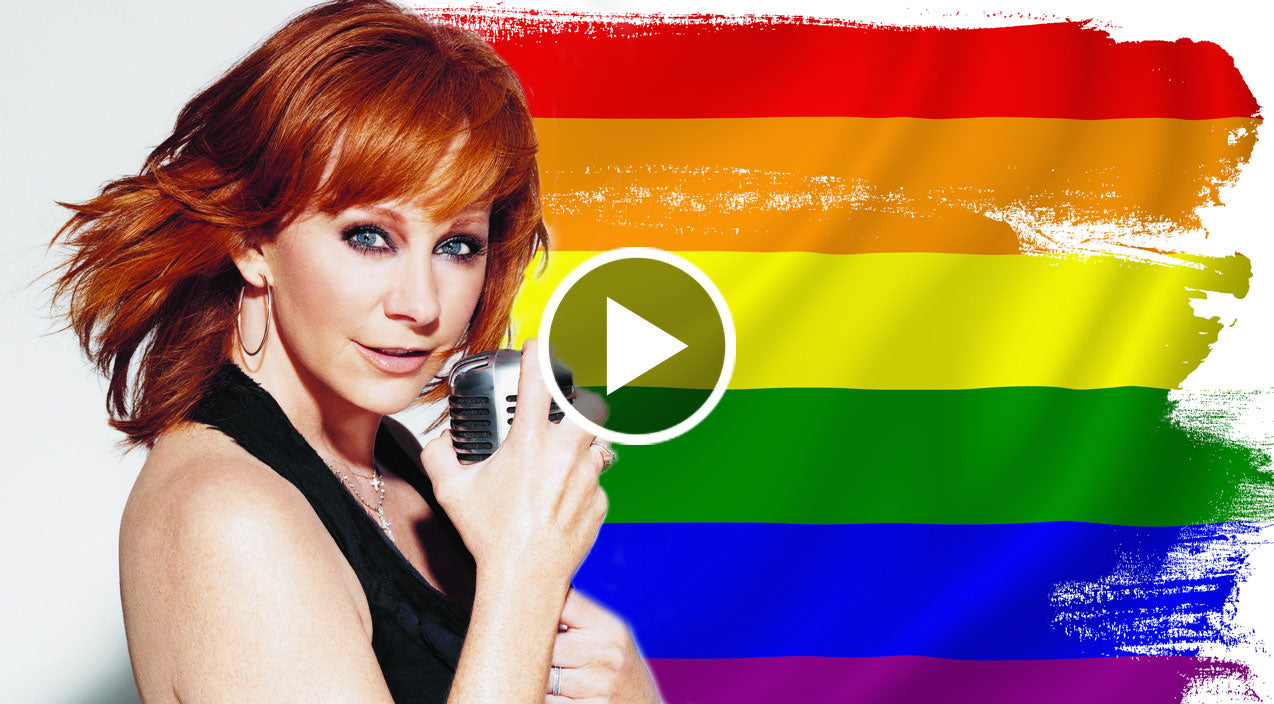 Reba mcentire announces to lgbt community i 39 ve got your for How many kids does reba mcentire have