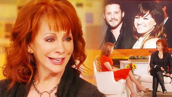 Reba mcentire Songs | Reba McEntire - Thrilled to Have Kelly Clarkson as Daughter-in-Law | Country Music Videos