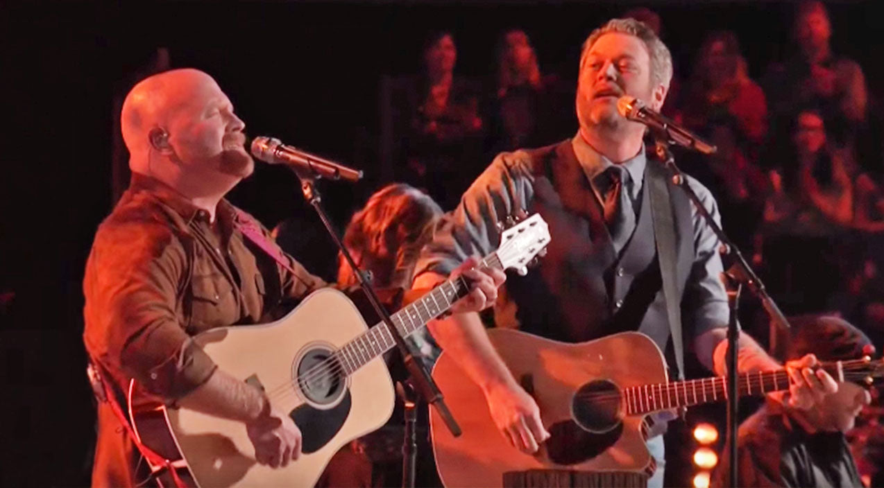 The voice Songs | Blake Shelton & Red Marlow Team Up For Rockin' Duet Of 'I'm Gonna Miss Her' | Country Music Videos