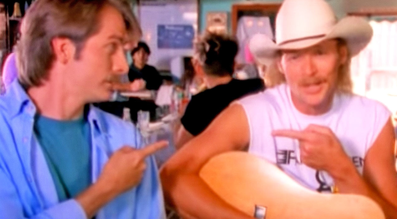Alan jackson Songs | Alan Jackson & Jeff Foxworthy Give Olympics A Redneck Twist In Hysterical Parody | Country Music Videos
