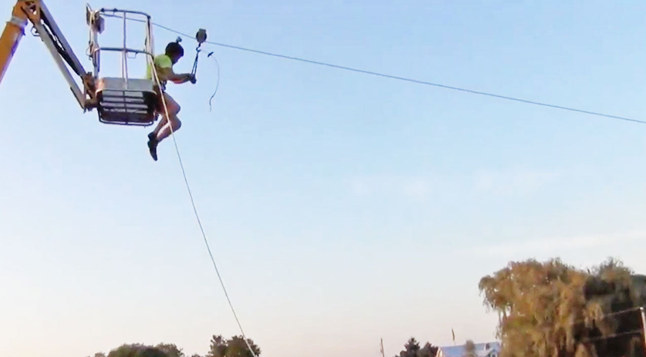Redneck-Rigged Zipline Goes Horribly Wrong | Country Music Videos