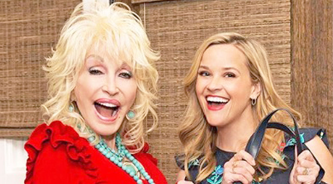 Reese witherspoon Songs   Reese Witherspoon Gave Dolly Parton The Most Magnificent Birthday Gift Ever   Country Music Videos