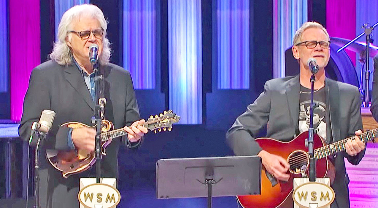 Ricky skaggs Songs | Ricky Skaggs' Heavenly Duet With Popular Christian Singer Makes Opry Cheer With Joy | Country Music Videos