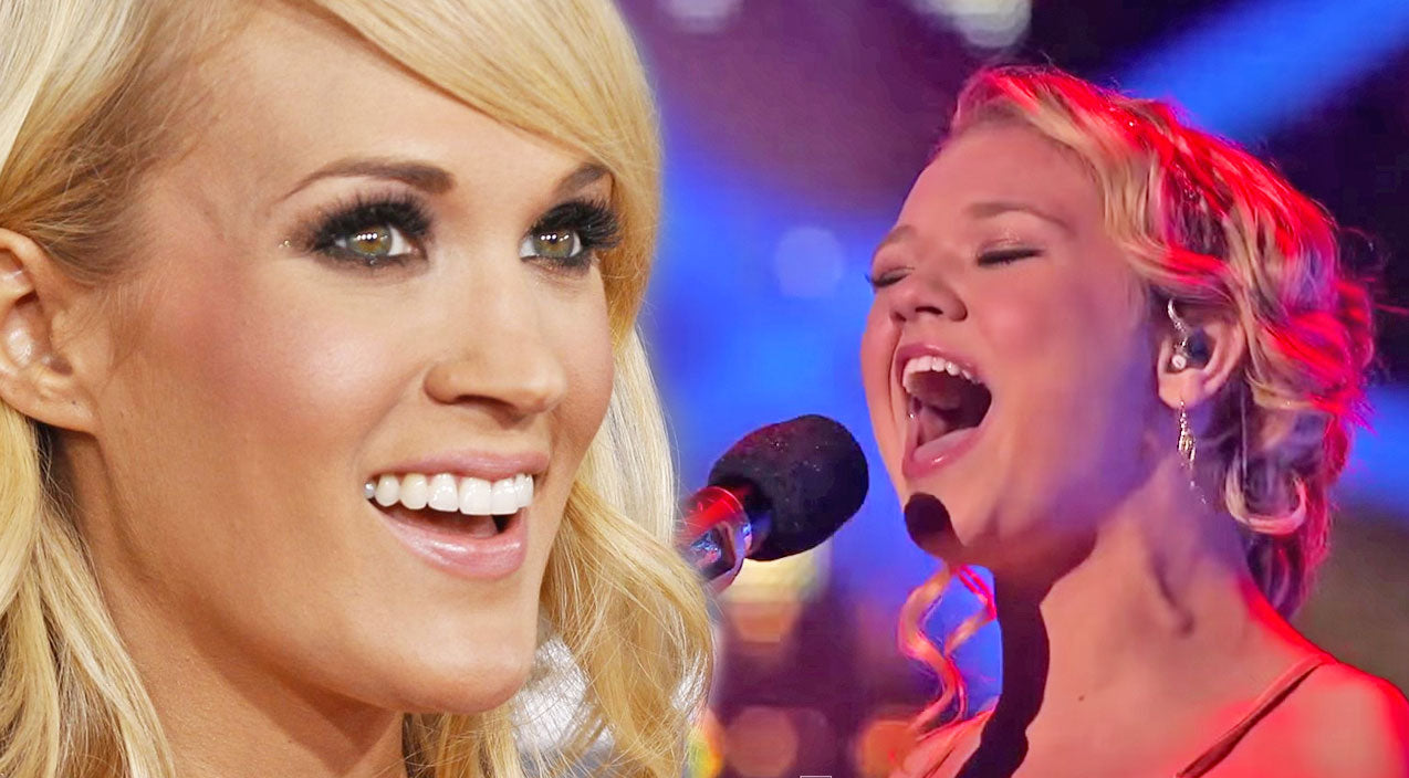 Carrie underwood Songs | 13-Year-Old Girl With Rare Condition Lights Up The Stage With Carrie Underwood's 'See You Again' | Country Music Videos