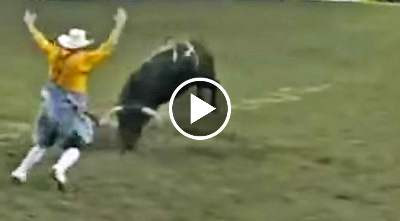 Fearless Bullfighter Backflips Over Angry Bull In Mind