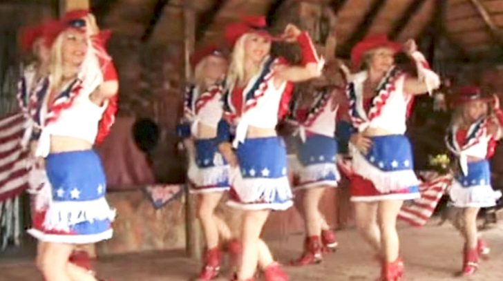 Rodeo Girls Show Off A Line Dance Y'all Will Be Dyin' To Learn | Country Music Videos