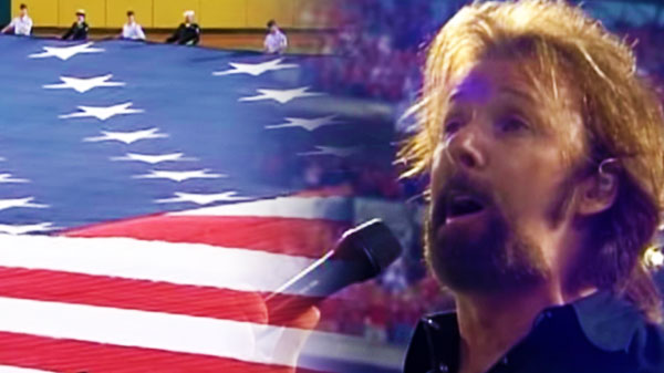 Brooks and dunn Songs | Ronnie Dunn - Sings the National Anthem (Amazing Performance!) | Country Music Videos