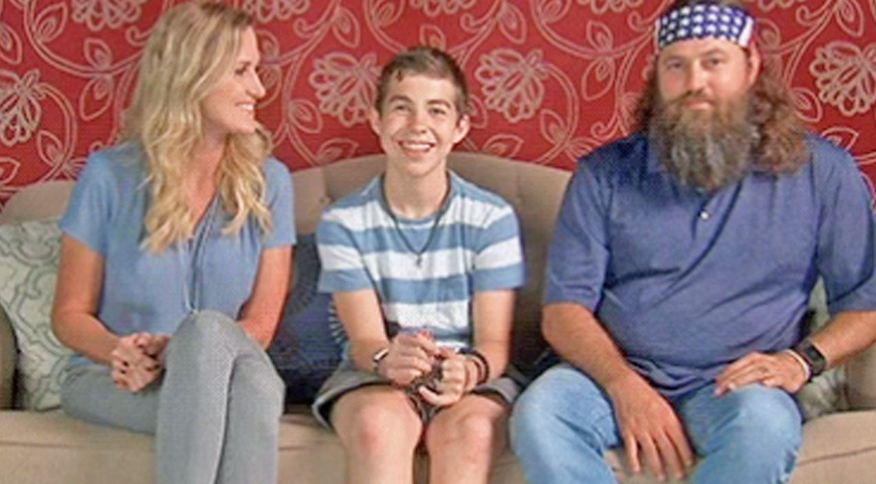 Willie robertson Songs | Willie and Korie Robertson's Newly Adopted Son Makes 'Duck Dynasty' Debut | Country Music Videos