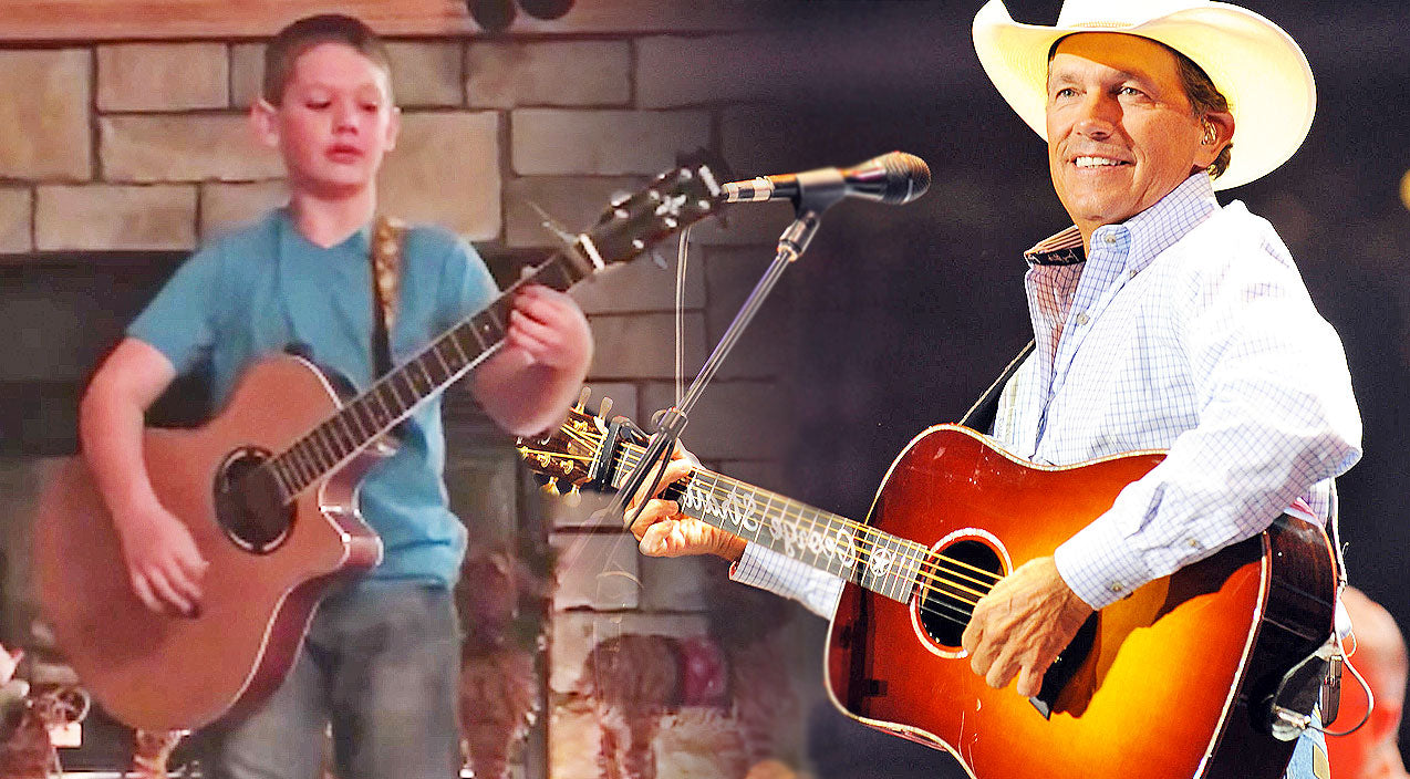 George strait Songs | 10-Year-Old Delivers Impressive Rendition Of George Strait's 'Check Yes Or No' | Country Music Videos