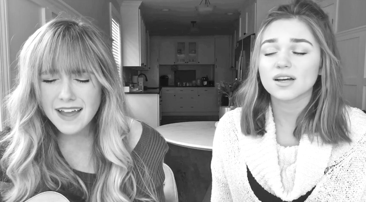 Sadie robertson Songs | Sadie Robertson And Friend Perform Heavenly Worship Song In Perfect Harmony | Country Music Videos