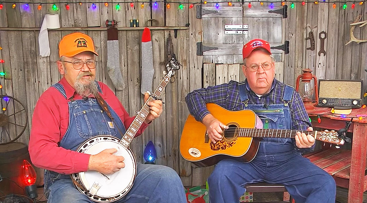 Viral content Songs | Bluegrass Men Hysterically Sing About Embarrassing 'Itch' They Accidently Gave Santa | Country Music Videos