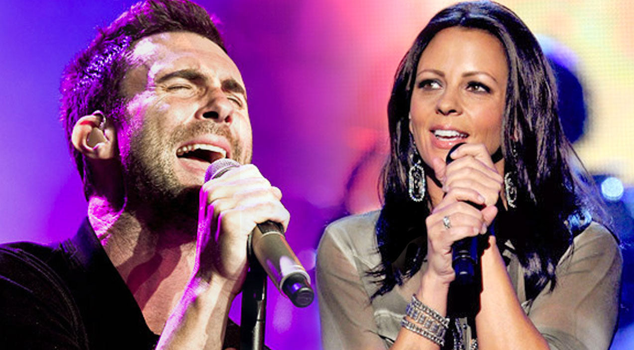 Sara evans Songs | Sara Evans And Adam Levine Shine In Electrifying Duet | Country Music Videos
