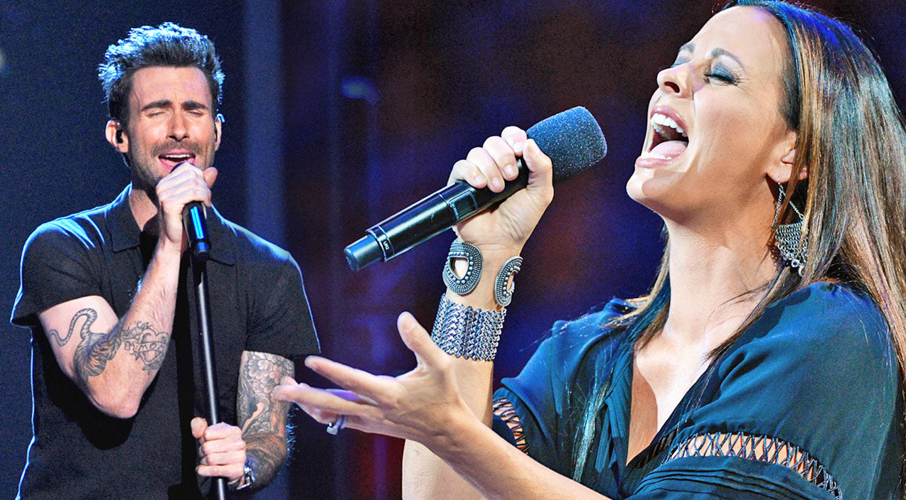 Sara evans Songs | Sara Evans & Adam Levine Perform Emotional Rendition Of Stevie Nicks' 'Leather and Lace' | Country Music Videos