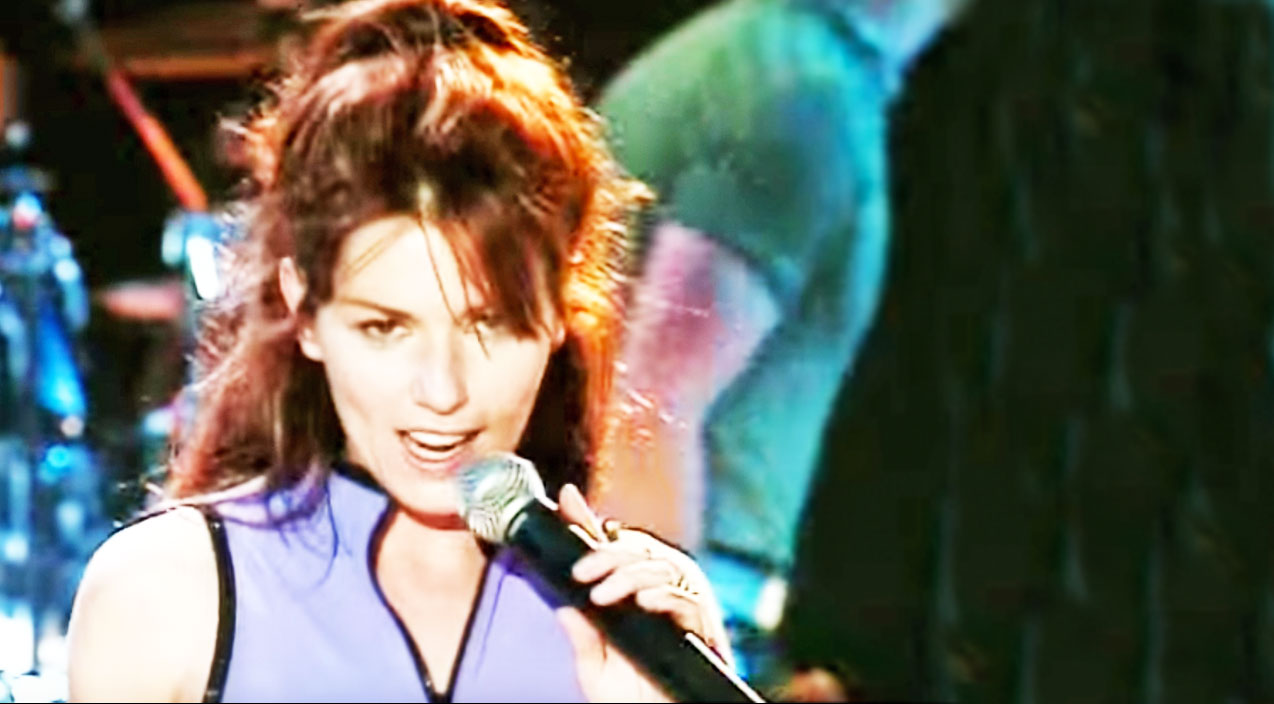 Shania twain Songs | Shania Twain Turns Up The Sass In '90s Performance Of 'Honey I'm Home' | Country Music Videos