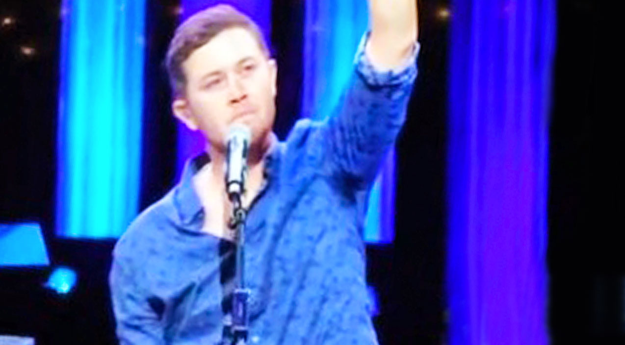 Scotty mccreery Songs | Scotty McCreery Mourns The Loss Of Close Friend Prior To Opry Performance Of 'Five More Minutes' | Country Music Videos