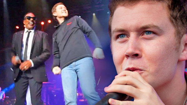 Scotty mccreery Songs | Scotty McCreery Rocks The Stage With Legendary R&B Singer, Charlie Wilson (LIVE) | Country Music Videos