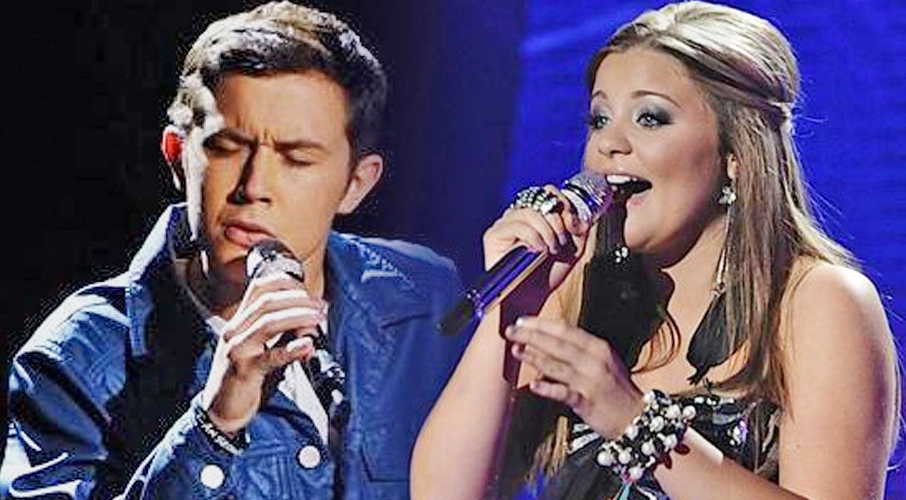 Scotty mccreery Songs | Scotty McCreery & Lauren Alaina Bring Crowd To Their Feet With Iconic 'I Told You So' | Country Music Videos