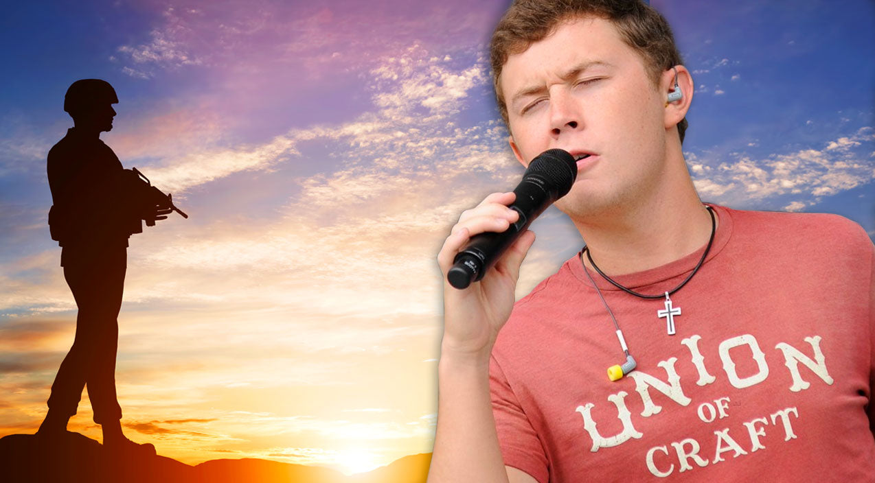 Scotty mccreery Songs | Scotty McCreery Pays Tribute to Military with 'Letters From Home' On Duck Commander Cruise | Country Music Videos