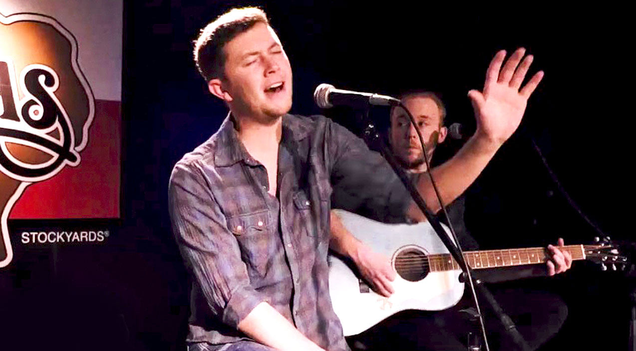 Scotty mccreery Songs | Scotty McCreery Bares Heart & Soul In Unplugged Performance Of 'Five More Minutes' | Country Music Videos