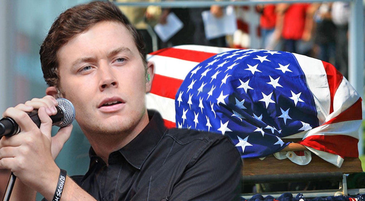 Scotty mccreery Songs | Scotty McCreery Sings Heartbreaking Tribute To Honor Fallen Soldiers | Country Music Videos