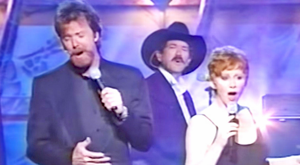 Reba mcentire Songs | Reba McEntire And Brooks & Dunn Leave Millions Spellbound With Flawless 'If You See Him' | Country Music Videos