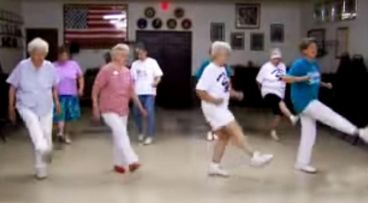 Viral content Songs | Senior Citizens Bust Out Their Youthful Spirits In Epic Country Line Dance | Country Music Videos