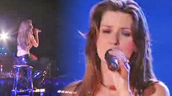 Shania twain Songs | Shania Twain - It Only Hurts When I'm Breathing (LIVE) | Country Music Videos