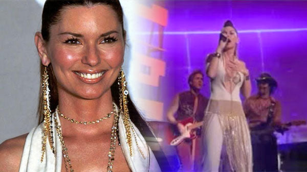 Shania twain Songs | Shania Twain Medley (2003 AMA) | Country Music Videos
