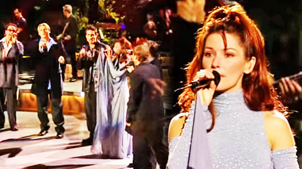 Shania twain Songs | Shania Twain - From this Moment On (feat. The Backstreet Boys) | Country Music Videos