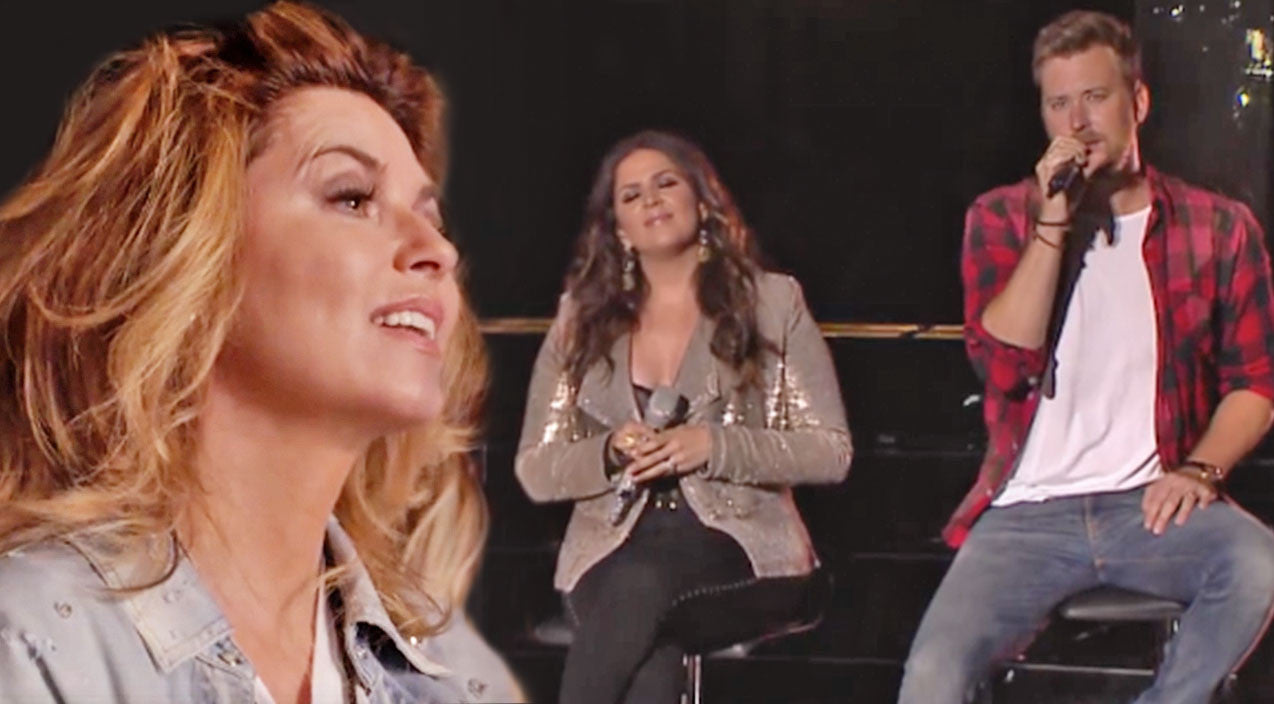 Shania twain Songs | Shania Twain Tears Up Watching Lady Antebellum Sing One Of Her Biggest Hits | Country Music Videos