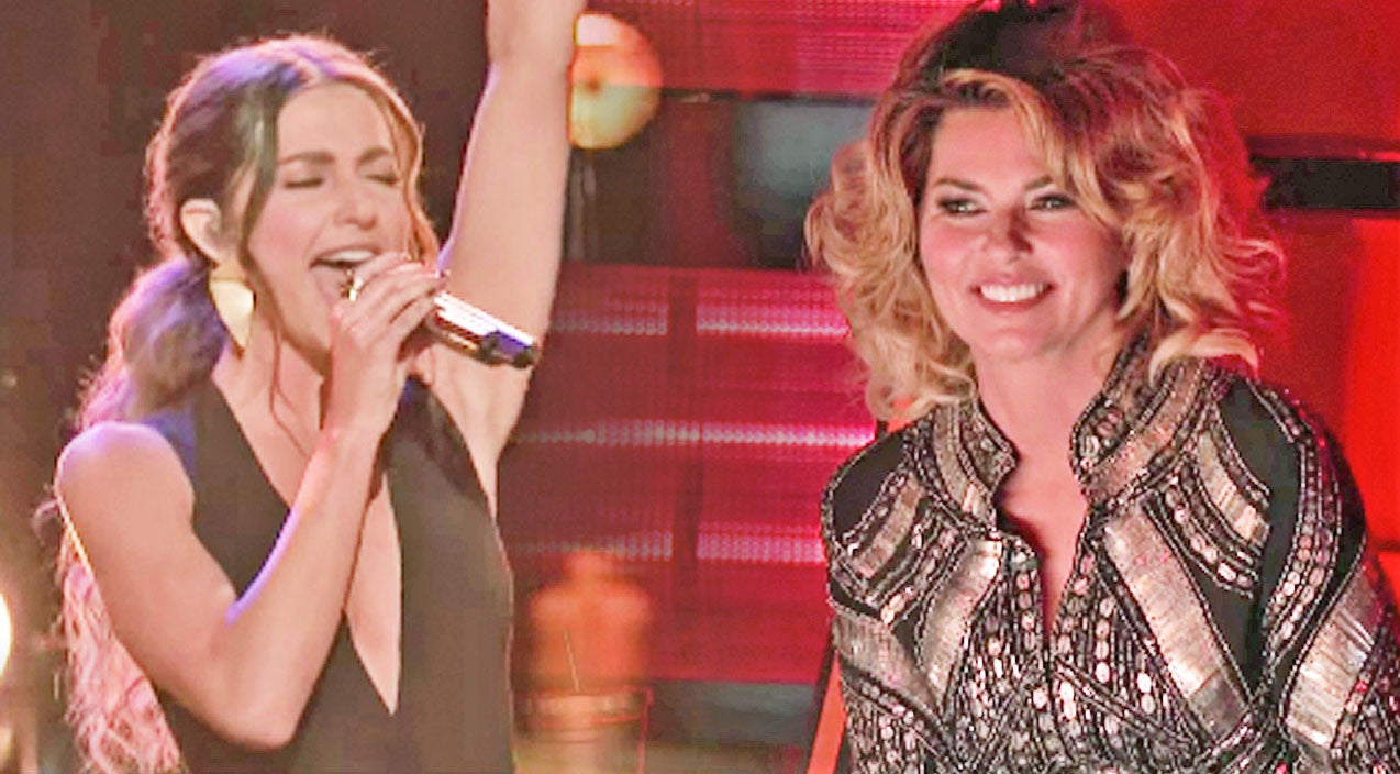 The voice Songs | Team Adam Singer Performs A Shania Twain Classic...In Front Of Shania Twain | Country Music Videos