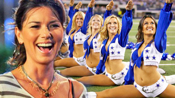 Shania twain Songs | Shania Twain Meets The Dallas Cowboys' Cheerleaders (Cute!) (VIDEO) | Country Music Videos