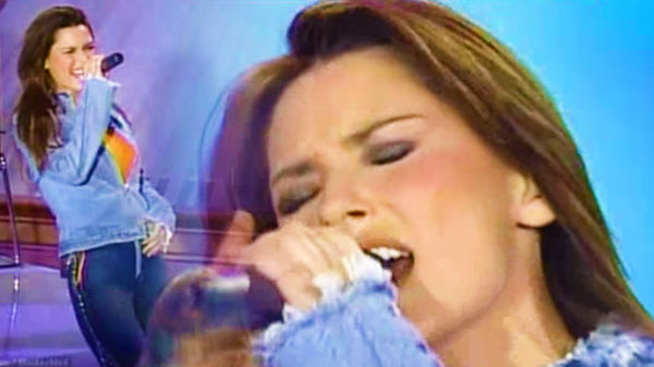 Shania twain Songs | Shania Twain - She's Not Just a Pretty Face (LIVE on Oprah) | Country Music Videos