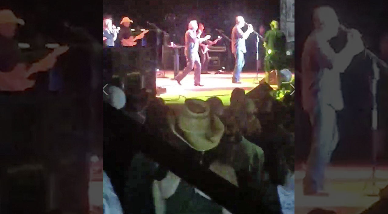 Oak ridge boys Songs | Blake Shelton Concert Epically Crashed By Legendary Country Band | Country Music Videos